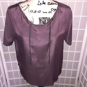 Tops - Casual Purple Blouse 👚